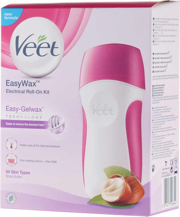 Zestaw do depilacji - Veet Easy Wax Electrical Roll On Kit — фото N1