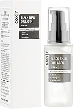 Kup Przeciwstarzeniowe serum do twarzy ze śluzem ślimaka - Coxir Black Snail Collagen Serum