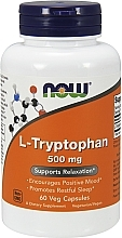 Kup L-Tryptophan na dobry nastrój i spokojny sen - Now Foods L-Tryptophan