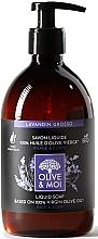 Kup Mydło w płynie z oliwą z oliwek, Lawenda - Saryane Olive & Moi Liquid Soap