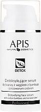 Kup Detoksykujące serum do twarzy z węglem z bambusa i jonizowanym srebrem - APIS Professional Detox