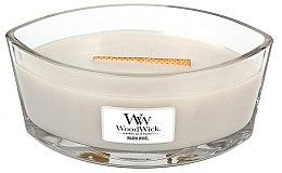 Kup Świeca zapachowa w szkle - WoodWick Hearthwick Flame Ellipse Candle Warm Wool