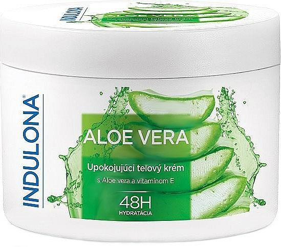 Kojący krem do ciała z aloesem - Indulona Aloe Vera Soothing Body Cream — фото N1