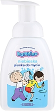 Kup Niebieska pianka do mycia rąk i ciała dla dzieci - Bambino Dzieciaki