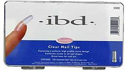 Kup Tipsy do paznokci, przeźroczyste - IBD Clear Nail Tips