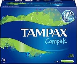 Kup Tampony z aplikatorem, 22 szt. - Tampax Compak Super