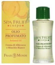 Kup Frais Monde Spa Fruit Apricot And White Musk Perfumed Oil - Olejek perfumowany Morela i białe piżmo