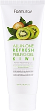 Kup Peeling do twarzy z ekstraktem z kiwi - FarmStay All-In-One Refresh Peeling Gel Kiwi