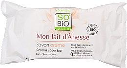 Kup Kremowe mydło w kostce z oślim mlekiem - So'Bio Etic Donkey's Milk Face Cream Soap