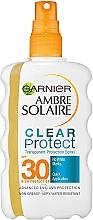 Kup Spray ochronny przeciwsłoneczny dwufazowy z filtrem SPF30 - Garnier Ambre Solaire Clear Protect Spray SPF30