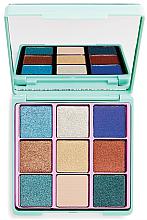 Kup Paleta brokatowych cieni do powiek - I Heart Makeup Glitter Palette
