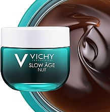 Krem i maska do twarzy na noc Dotlenienie i regeneracja - Vichy Slow Âge Night Cream & Mask — фото N11