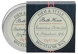 Kup PRZECENA! Wosk do stylizacji wąsów - Bath House Menthol Snorwax *