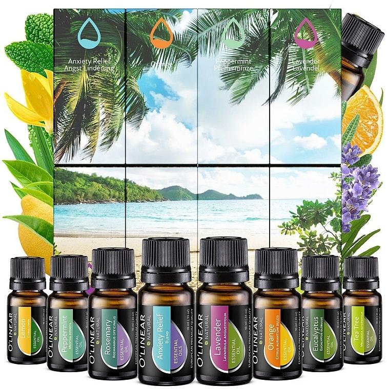 Zestaw olejków eterycznych - O'linear Essential Oils Set — фото N1