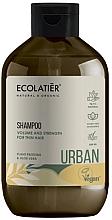 Kup Szampon zwiększający objętość do cienkich włosów - Ecolatier Urban Volume & Strength Shampoo
