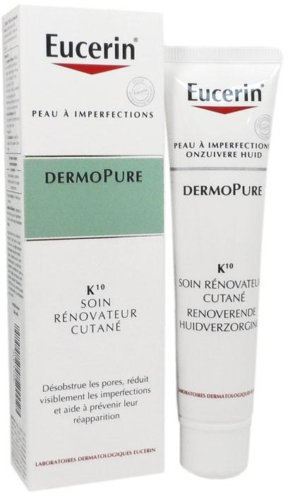 Odnawiająca kuracja do twarzy - Eucerin DermoPure K10 Skin Renovator Care — фото N1