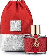 Kup Uniwersalne czerwone etui na perfumy Perfume Dress - Makeup