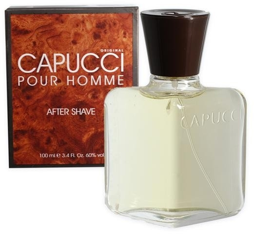 Capucci Pour Homme - Perfumowany balsam po goleniu dla mężczyzn — фото N1