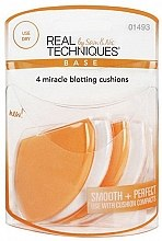 Kup Zestaw gąbek do makijażu - Real Techniques 4 Miracle Blotting Cushions
