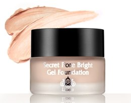Kup Żelowy podkład do twarzy - Lioele Secret Pore Bright Gel Foundation