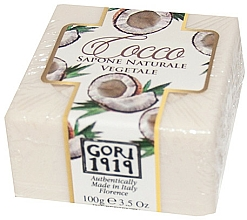 Kup Mydło w kostce Kokos - Gori 1919 Coconut Natural Vegetable Soap