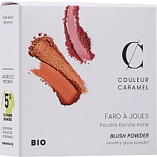 Kup Róż do policzków - Couleur Caramel Blush Powder