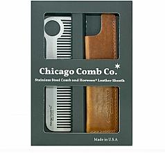 Kup Zestaw - Chicago Comb Co CHICA-1-SET (comb/1pcs + case/1pcs)