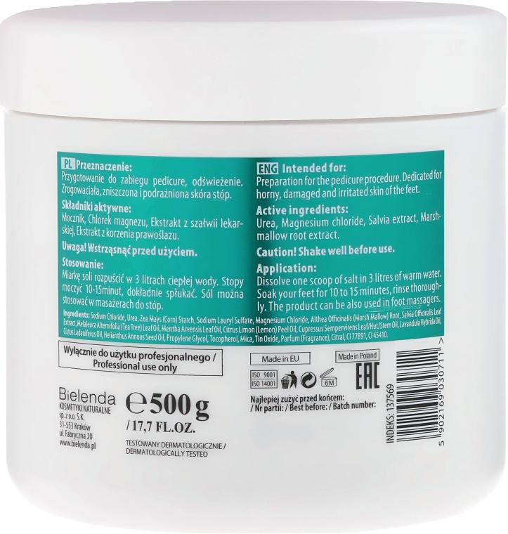 Odprężająca sól do kąpieli stóp - Bielenda Professional PodoCall Therapy — фото N2