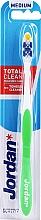 Kup Szczoteczka do zębów, średnia twardość, jasnozielony - Jordan Total Clean Medium