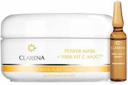 Kup Kremowa maska z 100% aktywną witaminą C i ekstraktem z jedwabiu - Clarena Pure Vit C Power Mask 100% Vit C Aa2g