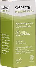 Przeciwstarzeniowe serum do twarzy - SesDerma Laboratories Factor G Renew Rejuvenating Serum — фото N3