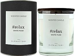 Kup Świeca zapachowa Białe piżmo - Ambientair The Olphactory Relax White Musk Black Design