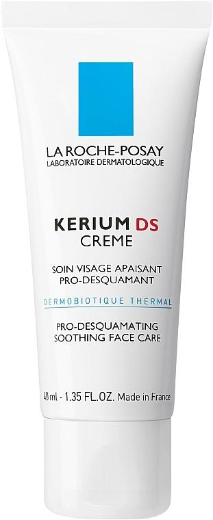Kojący krem do skóry łojotokowej - La Roche-Posay Kerium DS Pro-Desquamating Soothing Face Care