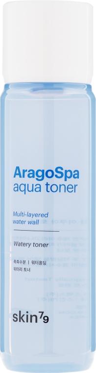 Nawilżający tonik do twarzy - Skin79 Aragospa Aqua Toner — фото N2