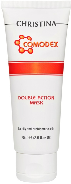 Maska o podwójnym działaniu do skóry tłustej i problematycznej - Christina Comodex Double Action Mask