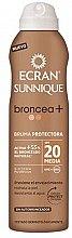 Kup Brązujący krem ochronny w aerozolu z filtrem SPF 20 - Ecran Sunnique Broncea+ Lotion