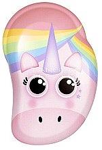 Kup Szczotka do włosów - Tangle Teezer The Original Mini Children Detangling Hairbrush Rainbow The Unicorn