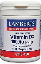 Kup Suplement diety Witamina D3, 25 mg - Lamberts Vitamin D3 1000 IU