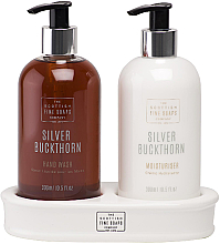 Kup Zestaw - Silver Buckthorn Hand Care Set (h/wash/300ml + cream/300ml)
