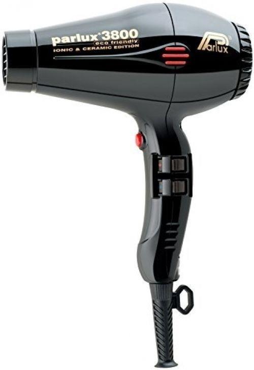 Suszarka do włosów - Parlux Hair Dryer 3800 Ionic & Ceramic Black — фото N1