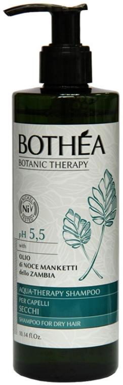 Szampon nawilżający do włosów suchych - Bothea Botanic Therapy Aqua-Therapy Shampoo pH 5.5 — фото N1