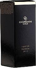 Kup Podkład do twarzy w płynie - Oriflame Giordani Gold Liquid Silk Foundation SPF 12