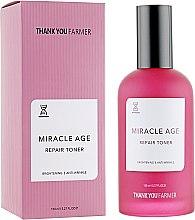 Kup Rozjaśniający naprawczy tonik przeciwzmarszczkowy - Thank You Farmer Miracle Age Tooner