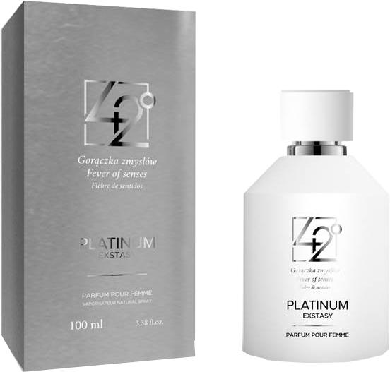 42° by Beauty More Platinum Extasy Pour Femme - Woda perfumowana — фото N1