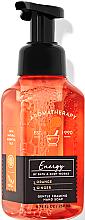 Kup Mydło w piance do rąk Wanilia i kokos - Bath and Body Works Aromatherapy Orange Ginger Gentle Foaming Hand Soap