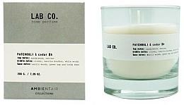 Kup Świeca zapachowa - Ambientair Lab Co. Patchouli & Cedar