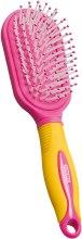 Kup Szczotka do włosów dla dzieci, żółto-różowa - Titania