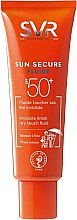 Kup Lekki krem ochronny niepozostawiający smug SPF 50+ - SVR Sun Secure Fluide