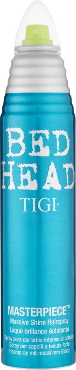 Intensywnie nabłyszczający lakier do włosów - Tigi Bed Head Masterpiece Massive Shine Hairspray