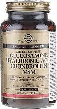 Kup Kompleks: glukozamina, kwas hialuronowy, chondroityna i MSM - Solgar Glucosamine Hyaluronic Acid Chondroitin MSM